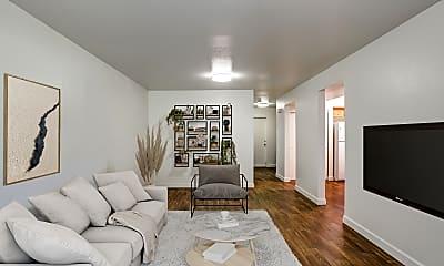 Living Room, Miramar Townhomes Military Housing (MCAS), 1