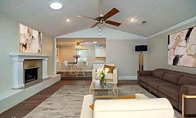 Living Room, 2300 Green Oaks St, 1