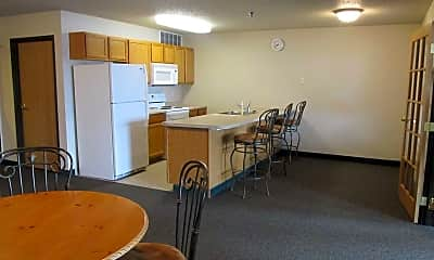 Dining Room, Eastview Apartments, 1