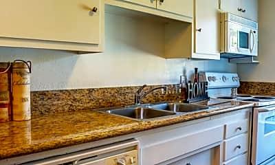 Kitchen, Sunset Plaza Apartments, 1