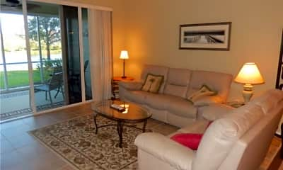 Living Room, 10115 Colonial Country Club Blvd 2104, 0