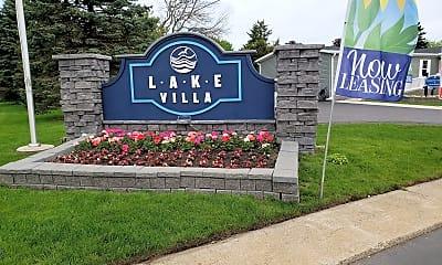 Community Signage, Lake Villa, 2