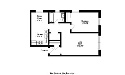 Building, 3955 N Lamon Ave, 1
