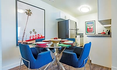 Dining Room, The Grove Apartments, 1