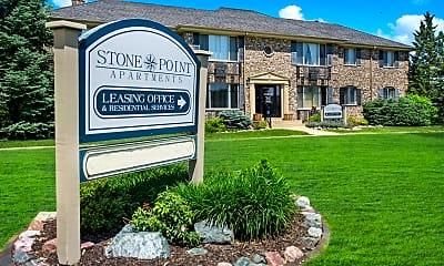 Community Signage, Stone Point, 0