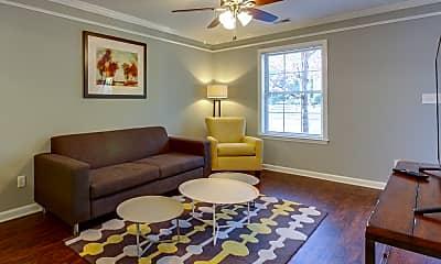 Living Room, Davenport Condominiums, 1