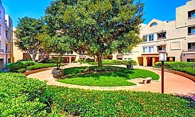 Courtyard, Nobel Court Apartments, 0