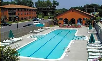 Pool, Emerald Lake Apartments, 1