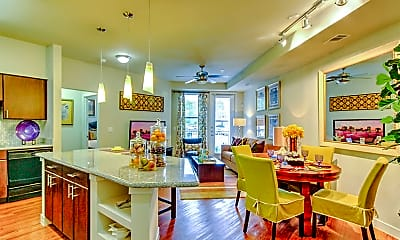 Dining Room, Connection At Buffalo Pointe, 2