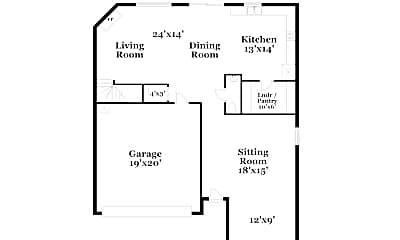 Building, 9627 Hollyburgh Ter, 1