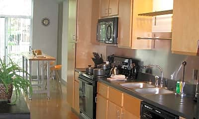 Kitchen, Metropolitan Flats, 1