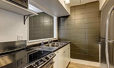 Kitchen, Uteg Apartments, 0
