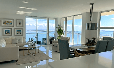 Living Room, 1101 Brickell Bay Dr, 0