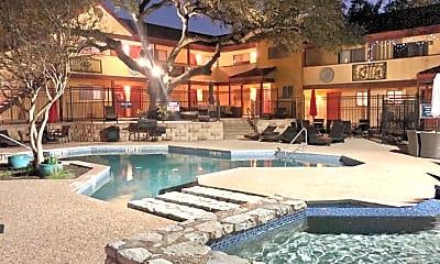 Pool, The Arts Apartments at South Austin, 0