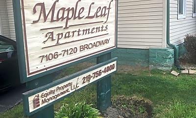 Maple Leaf Apartments, 1