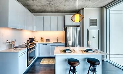 Kitchen, 220 W Illinois St 2402, 1
