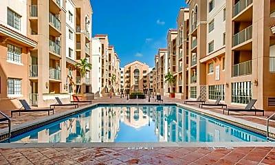Pool, Gables Grand Plaza Apartments, 0