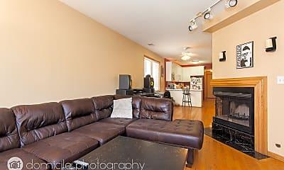 Living Room, 1430 N Bosworth 1, 0