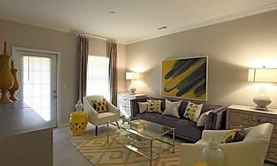 Living Room, Adeline at White Oak, 1