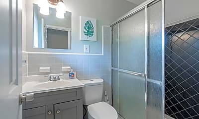 Bathroom, Room for Rent -   a 4 minute walk to bus 107, 2