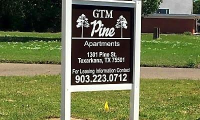 Community Signage, 1301 Pine St, 0