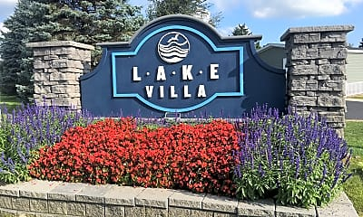 Community Signage, Lake Villa, 0
