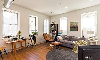 Living Room, 1618 Mifflin St 1B, 0