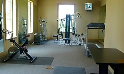 Fitness Weight Room, Port Royal Apartment Homes, 2