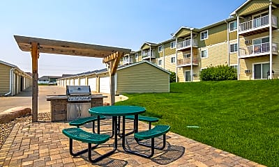 Recreation Area, Timber Trails Apartments, 1