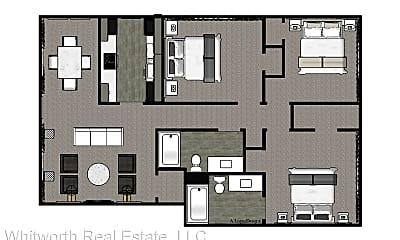 Bedroom, 3831 3rd Ave E, 2