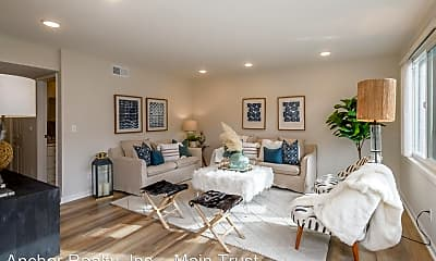 Living Room, 2302 Carlmont Dr, 1
