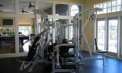 Fitness Weight Room, The Pointe at Central, 1