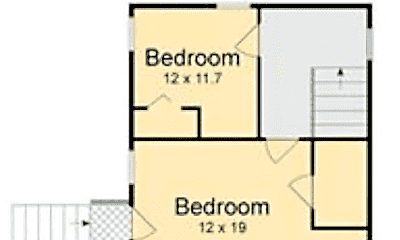 Bedroom, 2633 Governor Nicholls St, 2