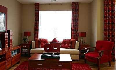 Living Room, The Waverley Apartments, 1