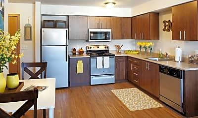 Kitchen, Reserve at SeaTac Senior Housing, 1