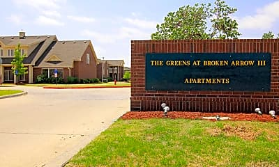 Community Signage, The Greens At Broken Arrow III, 2