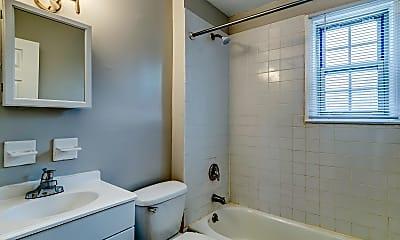 Bathroom, Alden Apartments, 2