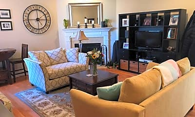 Living Room, 1729 Wallace St 201, 1