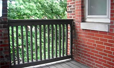 Patio / Deck, 5360 Pershing Ave 1C, 2