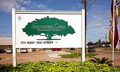 Community Signage, Southern Oaks, 2