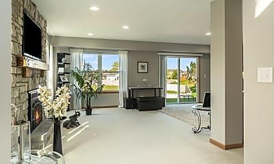 Living Room, 1219 Promontory Lane, 1