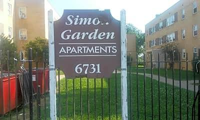 Simon Garden Apartments, 1