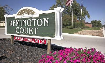 Community Signage, Remington Court, 2