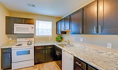 Kitchen, Green Acres Apartments, 0