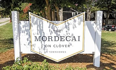 Mordecai on Clover Townhomes, 2