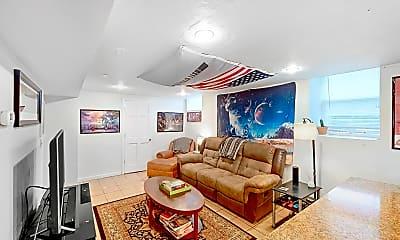Living Room, 42 Brainerd Road, Unit B, 1