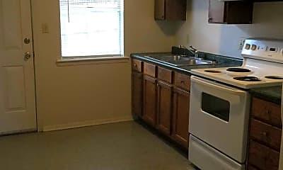 Kitchen, Foxborough Apartments, 2