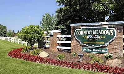 Community Signage, Country Meadows Village, 2