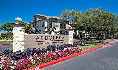 Community Signage, Arboleda Apartment Homes, 1
