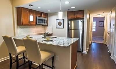 Kitchen, Dunwoody Pines Apartments Senior Living, 1